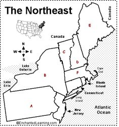 southern states print Southern US States Printout Label Me
