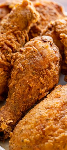 Turkey Dishes, Turkey Recipes, Chicken Recipes, Dinner Recipes, Dinner Ideas, Buttermilk Fried Chicken Tenders, Crispy Fried Chicken, Eat More Chicken, Southern Dishes