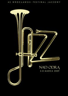 In this selection, we are presenting Artistic Jazz Poster Designs to inspire you. it will be your reference in making the theme of an event, as well as inspiration for you to create a poster / flyer promoting jazz events. Typography Letters, Typography Prints, Graphic Design Typography, Graphic Posters, Typography Poster, Retro Posters, Creative Typography, Jazz Poster, Gig Poster