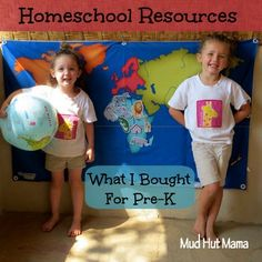 Homeschool Resources: What I Bought for Pre-K - Mud Hut Mama