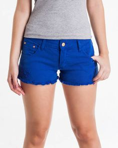 BadCat - Shorts Azul Royal
