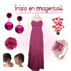 """Magenta!!"" by norma-castillo-cruz on Polyvore"
