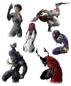 Superheroes 3  by Manuel Borras