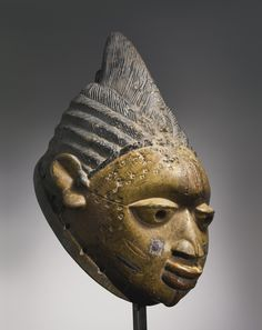 Yoruba Gelede (Ori Eniyan) Mask, Nigeria http://www.imodara.com/post/93036353119/nigeria-yoruba-gelede-mothers-headdress-ori