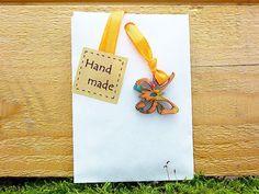25 Papiertüten weiß 6x9cm + Deko  Schmetterlinge von SackundPack auf DaWanda.com
