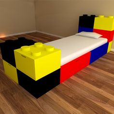 We are manufacturers of luxury made to last kids furniture - our building  block chest of drawers is great for Lego fans looking for a lego themed  bedroom ...