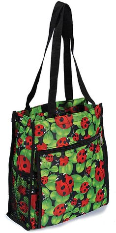 Ladybug Tote Bag have it love it. It has served many purposes including a diaper bag and an on the go craft bag. Ladybug Tote Bag have it love it. It has served many purposes including a diaper bag and an on the go craft bag. Summer Goddess, Baby Ladybug, Best Tote Bags, Lucky Ladies, Craft Bags, Cool Things To Buy, Stuff To Buy, Diaper Bag, Coin Purse