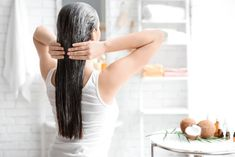 Searching for homemade hair mask to solve your hair woes? Nykaa's Beauty Book brings the best hair mask for dry hair, frizzy hair & hair fall. Read on to make hair mask at home like egg hair mask, banana, onion hair mask etc. Hair Mask For Growth, Hair Growth Oil, Natural Hair Growth, Natural Hair Styles, Grow Long Hair, Grow Hair, Grey Hair Remedies, Aloe For Hair, Best Hair Mask