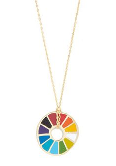 Corked Necklace in Color Wheel, #ModCloth OMG THIS WOULD BE AMAZING TO HAVE AS INSPIRATION AND PRACTICALITY FOR PAINTING AT A SIDEWALK CAFE IN PARIS!!!