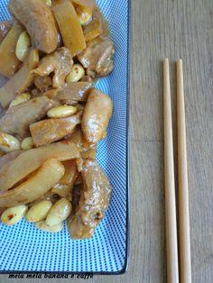 Pollo+con+mandorle+e+bambù