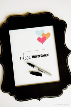CUTE idea for Valentine's Day. Print and frame then write on the glass. Erase and add a new message any time you want. FREE printables in a variety of colors. Be My Valentine, Valentine Gifts, Valentine Ideas, Love You Friend, Candy Bar Labels, Classroom Treats, Valentine's Day Printables, Creative Activities, Fun Activities