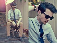 Ben Galbraith | Shirt, Topman | Tie, Kenji | Pants, Asos | Shoes, Asos