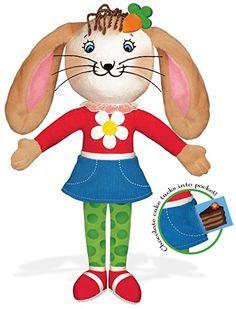 Betty Bunny Cloth Doll for Girls!