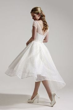 Five Short Wedding Dresses for 2014 - Annie by So Sassi
