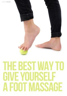 How to give yourself a foot massage!