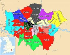 Map reveals most common second languages in London boroughs