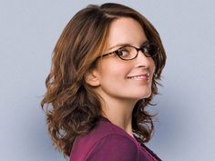 "Another Pinner said, ""Tina Fey is smart, funny, beautiful and not afraid to laugh at herself. I could not stop reading her book, Bossypants, it's amazing!"""