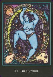 Example card from the World Spirit Tarot deck. DISCOVER MORE: http://www.tarotacademy.org/the-world-spirit-tarot/
