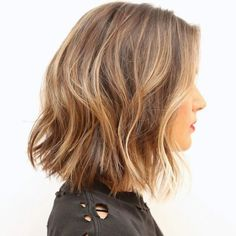 dark blonde lob - Google Search