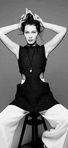 Bella Hadid for Love Magazine