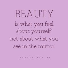 Beauty is within...