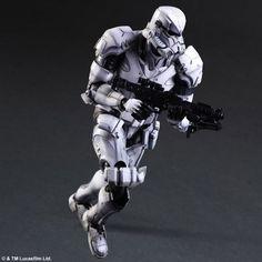 Square Enix Star Wars Play Arts Variant Figures - Stormtrooper-006