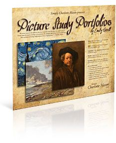 Picture study portfolios from Simply Charlotte Mason. These are VERY well done. High quality and very easy to use. Love them.
