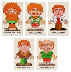 Atari man evolution