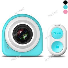 Adhesive 12MP 145° Wide Angle Mini WiFi 1080P FHD Camera with 2.4GHz Remote Controller EVC-506263