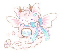 Unfortunately there was an incident that resulted in me accidentally being charged back for this character, so I have to reauction them. [CLOSED] Re-Auction (Ultra Rare Dragon Fluffbit! Cute Animal Drawings Kawaii, Cute Kawaii Animals, Cute Cartoon Animals, Anime Animals, Kawaii Drawings, Kawaii Art, Cute Drawings, Cute Creatures, Fantasy Creatures