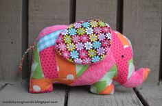 Made By Enginerds: Elephant stuffed animal tutorial