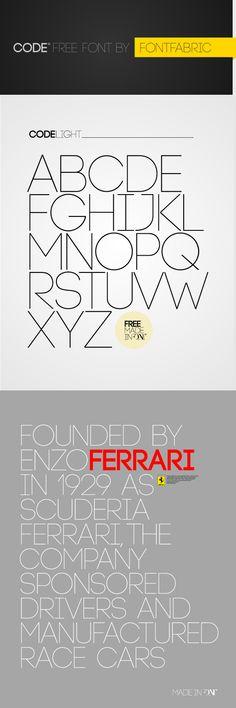 Code - Free Font