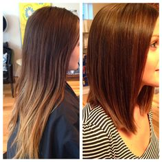 a beautiful LOB! Color the hair by giving it depth and shine! Check out every wednesday for a hair post at Talahairlife.blogspot.com