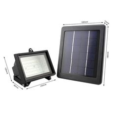 Ruocin hot sell high lumen 54 pcs led solar flood light for parking free shipping buy best outdoor solar powered flood light 40 led aloadofball Choice Image