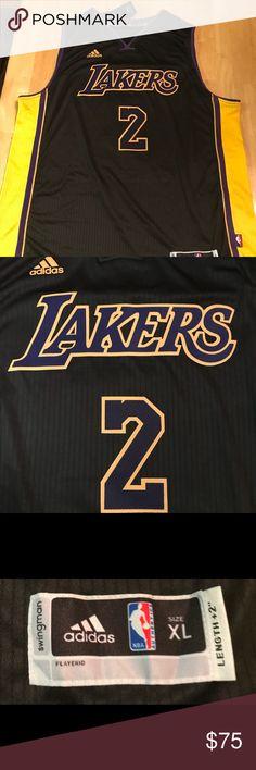 95e1e0304f3 Lonzo Ball Adidas Lakers Jersey Size XL nwt Brand new xl with tags adidas  Shirts