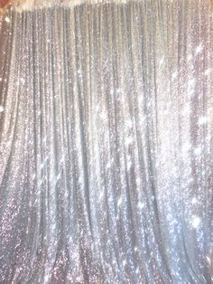 20 ft x 10 ft Silver Sequins Backdrop Curtain in Home & Garden, Window Treatments & Hardware, Curtains, Drapes & Valances | eBay