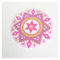 Mandala perle beads by perler_beads_in_my_heart