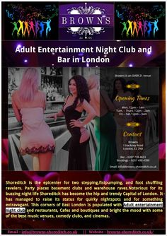 Are you searching for adult entertainment night club in London from UK? We are a fully licensed Adult Entertainment night club Bar London; nude lap dances are available from our gorgeous and beautiful ladies.