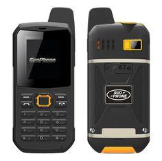 Guophone V1 Mobile Phone Russian keyboard IP67 waterproof shockproof support Intercom flashlight FM MP3 Walkie Talkie Cellphone