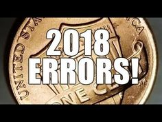 2018 Lincoln Cent Errors To Search For Worth Money! Newest Error Coins Are Here! - YouTube Valuable Pennies, Rare Pennies, Valuable Coins, Wheat Penny Value, Penny Values, Old Coins Worth Money, Coin Store, Penny Coin, Error Coins