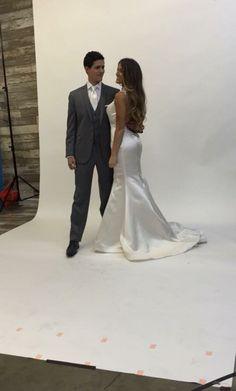 Steel grey Allure trim fit tuxedo Tuxedo, Steel, Wedding Dresses, Grey, Fitness, Fashion, Bride Dresses, Gray, Moda