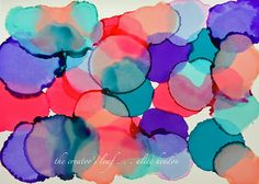The Creator's Leaf: New Colors from Rangers - Alcohol Inks Alcohol Inks, Art Journaling, Zentangle, Ranger, The Creator, Alice, Doodles, Watercolor, Colors