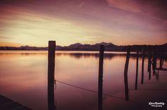Sunrise Chiemsee by LarsRoettigPhotography