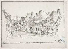 Arthur Edward Perkins 1888 Schoolsteeg