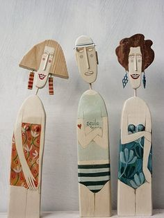 lynn muir wooden figures - Google Search