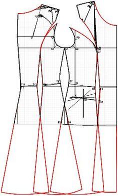 """Příklady modelů vyvinuta na základě šatů navržených v """"Cutter"""""""