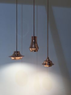 Copper pendant lights  Enquire through Carly at NW3 Interiors Ltd www.nw3interiorsltd.com 07773383530