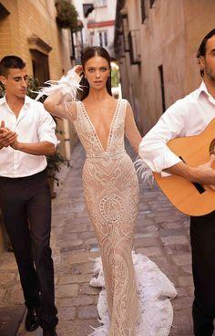 Trendy Wedding Dresses : Seville: The Latest Berta Wedding Dress Collection Designer Wedding Dresses, Bridal Dresses, Wedding Gowns, Backless Wedding, Wedding Rings, The Dress, Dress For You, Bridal Collection, Dress Collection
