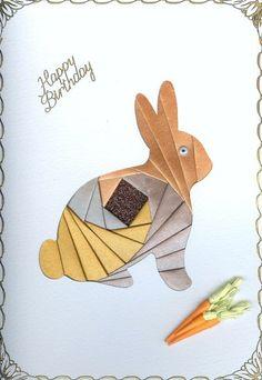 Bunny Iris Paper Folding
