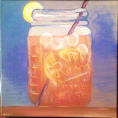 Mason Jar Sweet Tea on Etsy, $35.00